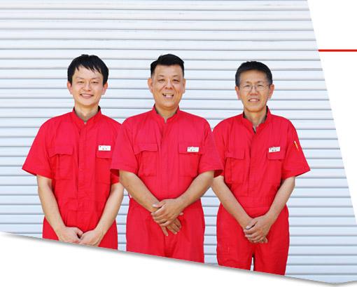 カーディーラー専属鈑金工場