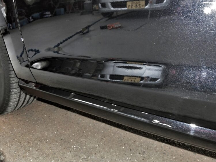 ゴルフAU TSI(フェンダー・ドア・サイドシル)キズ・ヘコミの修理料金比較と写真 初年度H30年、型式AUCPT