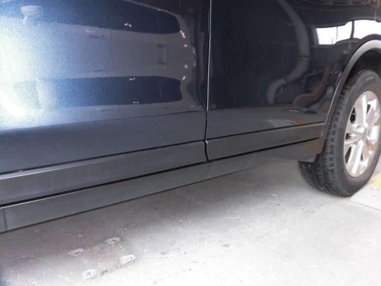 エクストレイル(前後ドア)キズ・ヘコミの修理料金比較と写真 初年度H28年、型式HT32